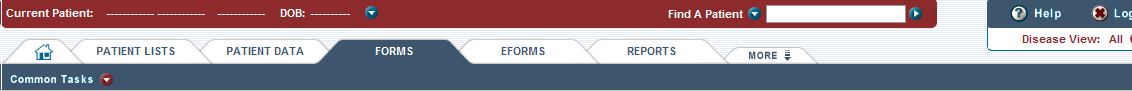 The Forms tab