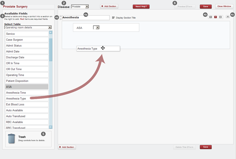 Sample EForm Workflow